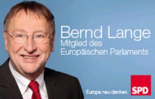 Bernd Lange, Mitglied des Europäischen Parlaments